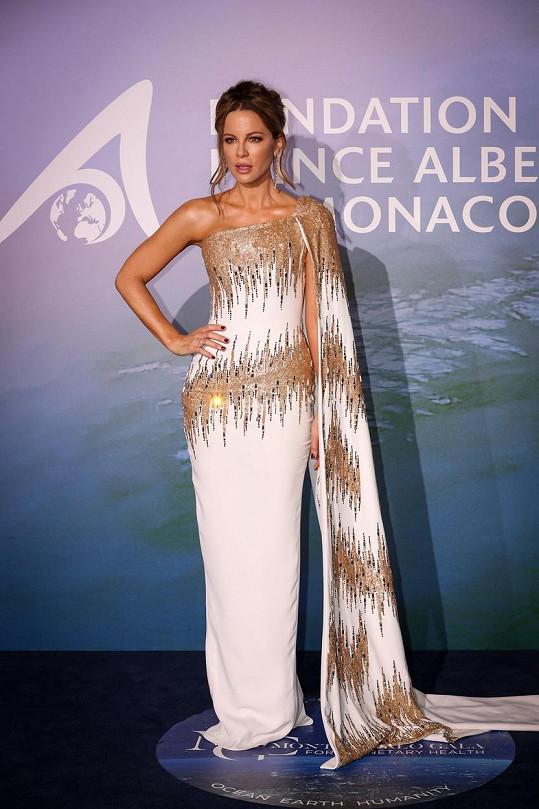Kate Beckinsale také nenechala nikoho na pochybách, že by neměla vše sladěné až do detailu.