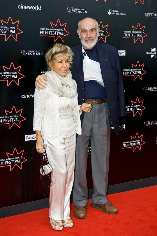 S manželkou Micheline