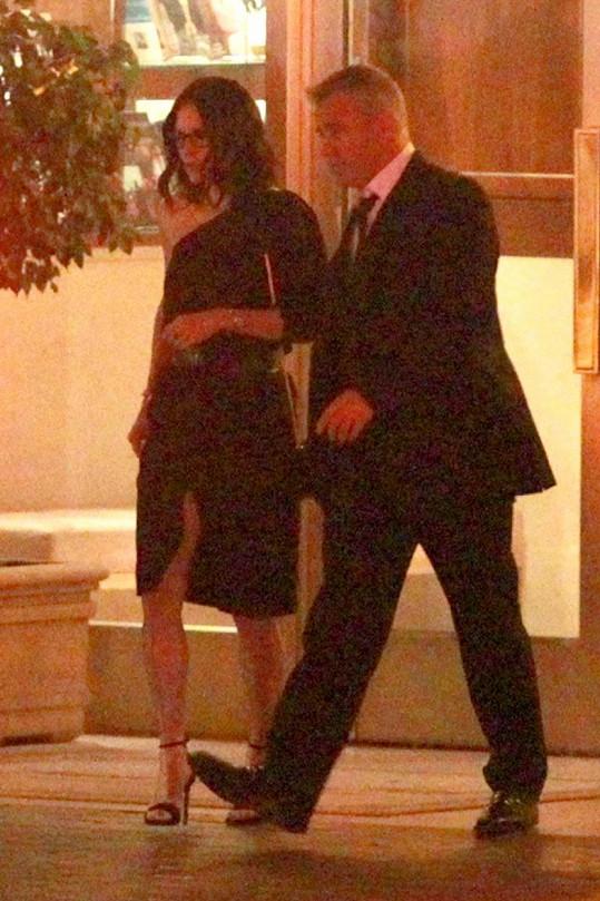 Courteney Cox a Matt LeBlanc spolu z večírku odcházeli.