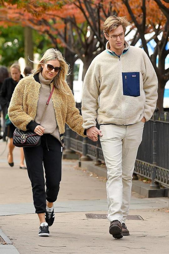 S Lucasem Zwirnerem randila před zásnubami přes rok.