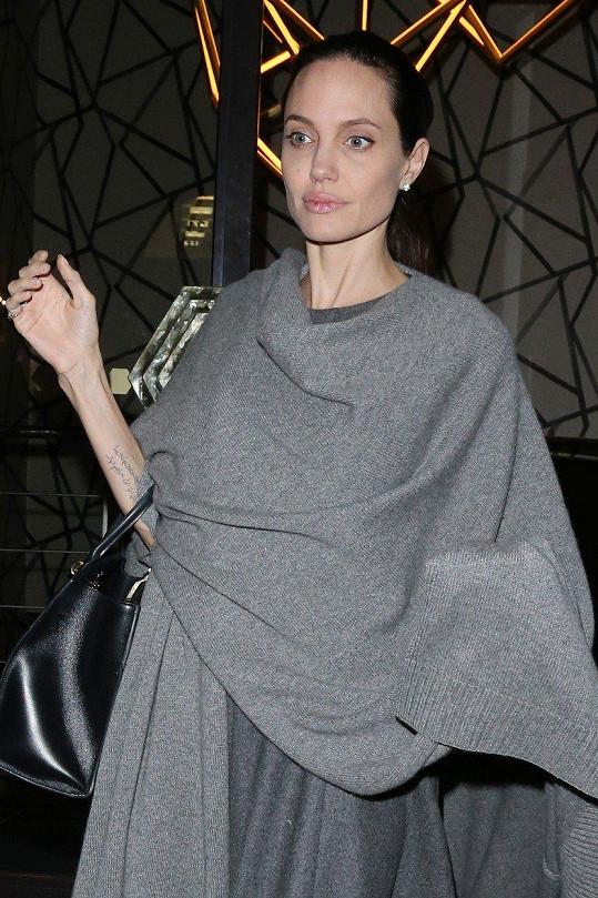 Angelině Jolie váha často kolísá.