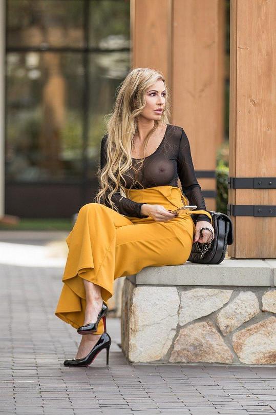 Ana Braga miluje lehkou módu.