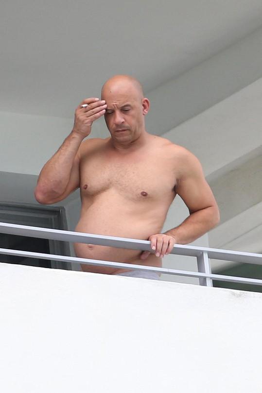 Touto fotkou Vin Diesel loni šokoval fanoušky.