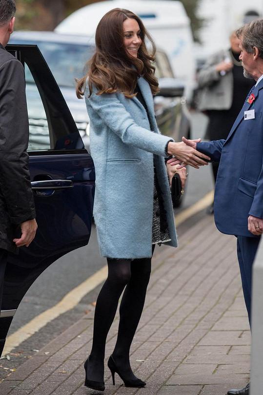 Kate je pořád povahou obyčejná holka.