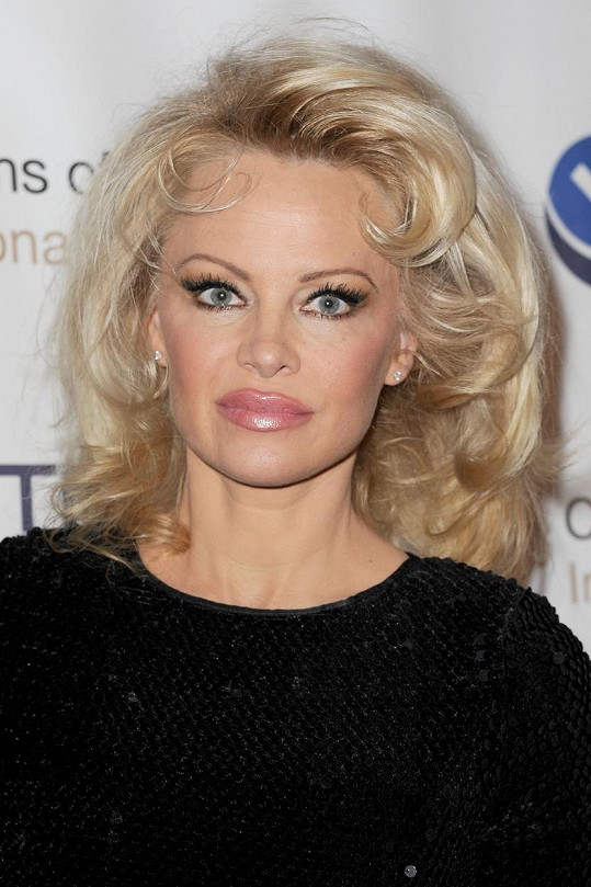 Pamela Anderson dnes....