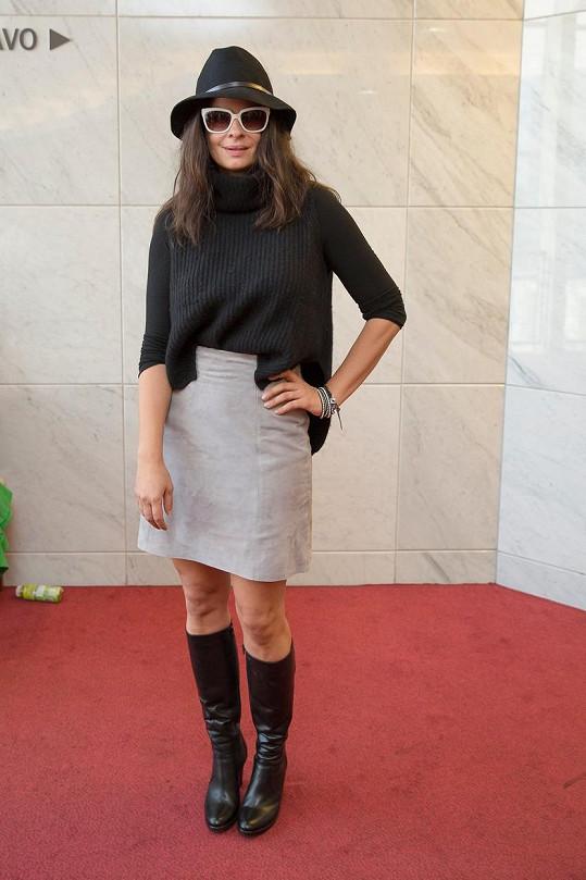Zuzana Fialová zhubla.
