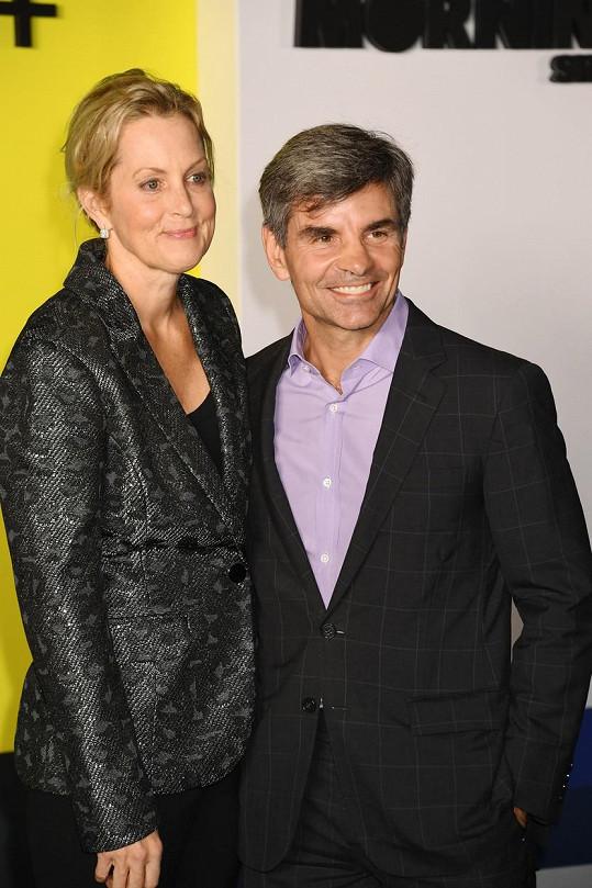 S manželem Georgem Stephanopoulosem