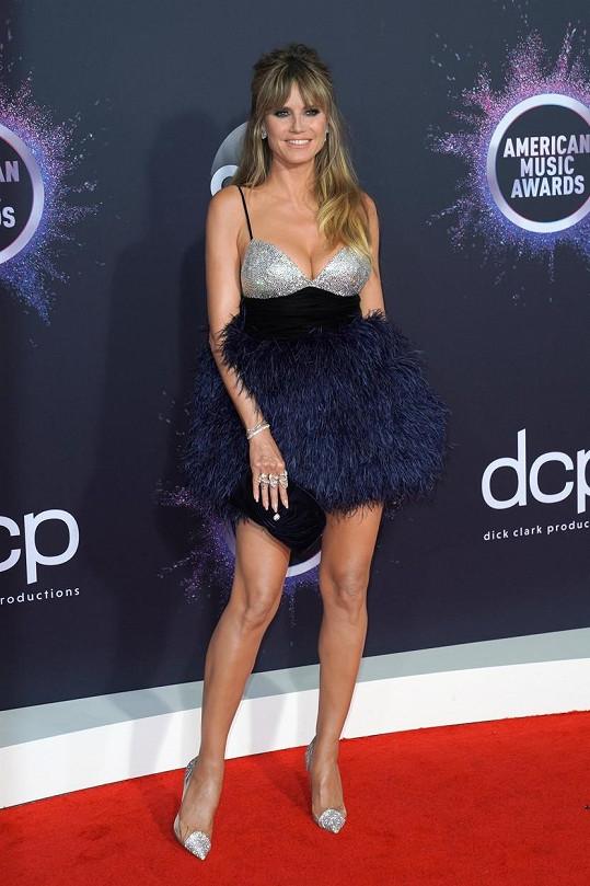Modelka Heidi Klum nikdy nezklame.
