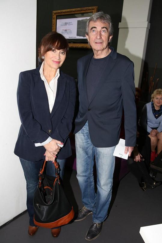 S kolegyní Petrou Černockou