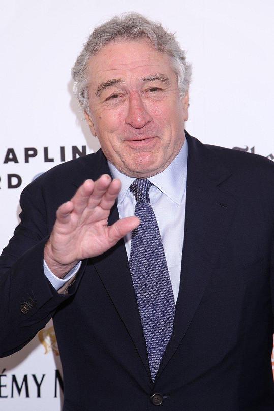Robert De Niro má celkem šest dětí, z toho pět vlastních.