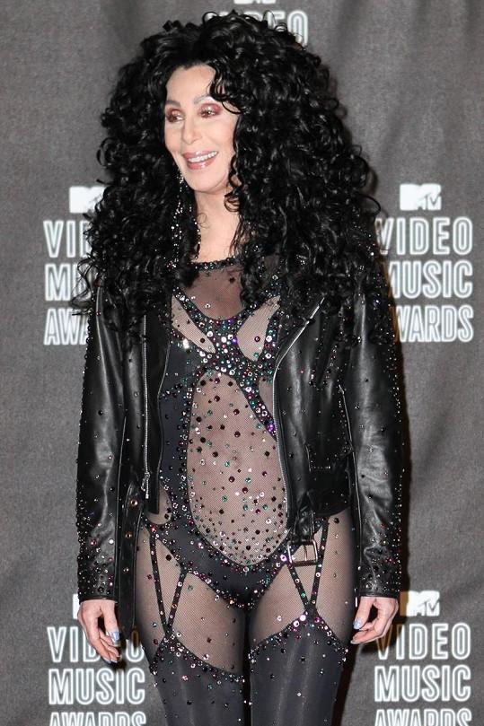 Takhle se Cher oblékla v roce 2010 na udílení MTV Video Music Awards.