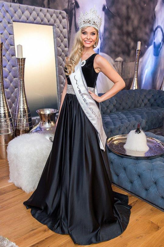Vanessa Bottánová je novou Miss Universe Slovenské republiky.