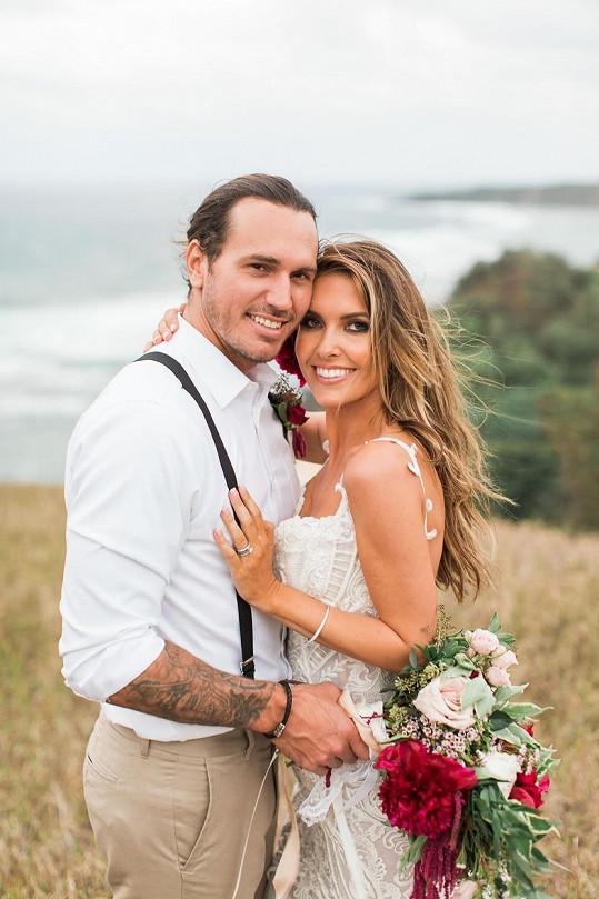 Audrina Patridge a Corey Bohan už tvoří manželský pár.