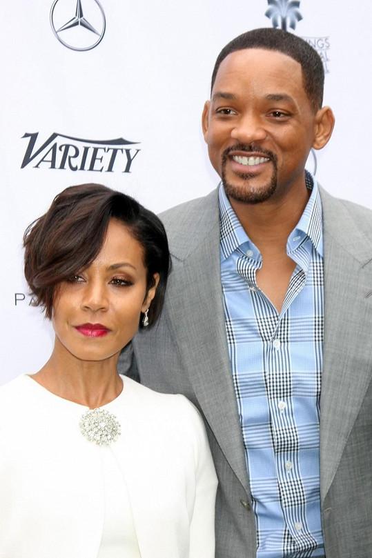 S manželkou Jadou Pinkett Smith