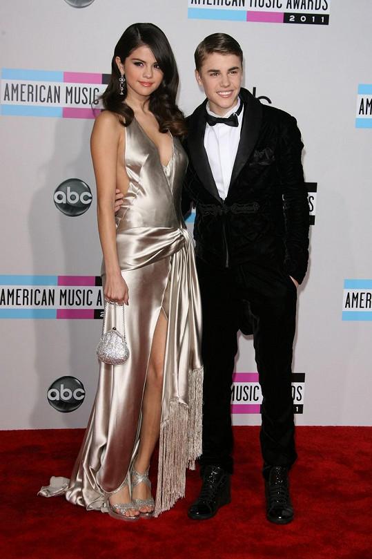 Justin Bieber tvořil pár se Selenou Gomez.