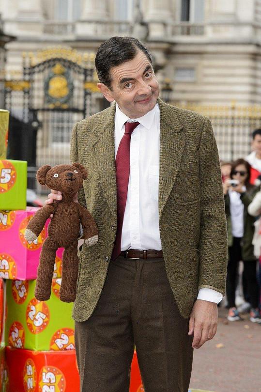 Rowan Atkinson jako Mr. Bean