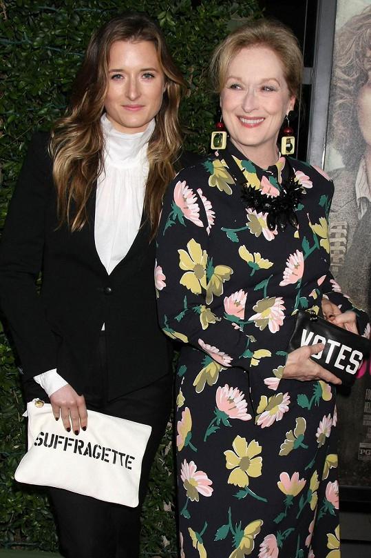 Grace je dcerou Meryl Streep.