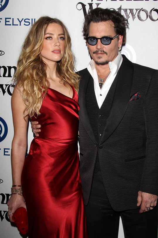 Amber Heard a Johnny Depp