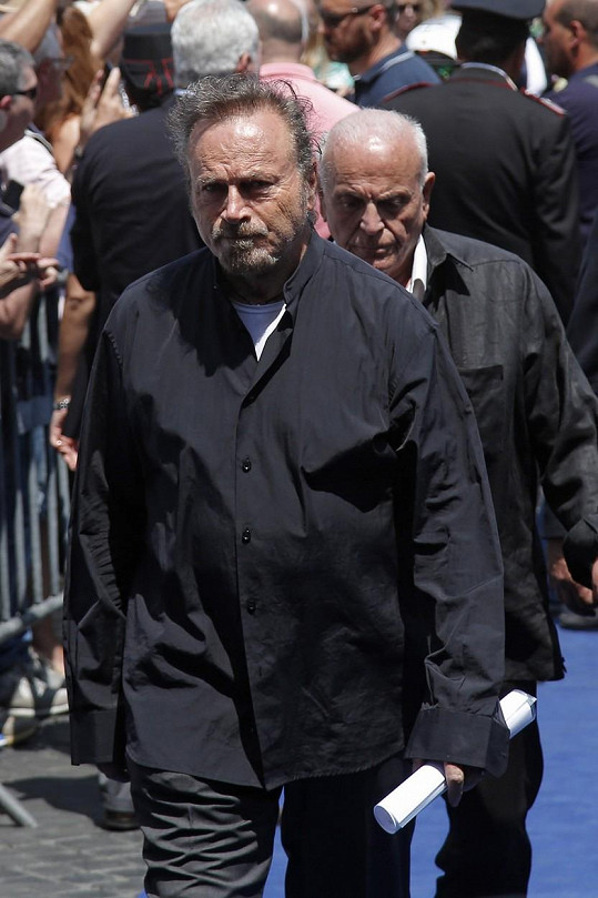 Na pohřeb přišel i Franco Nero.
