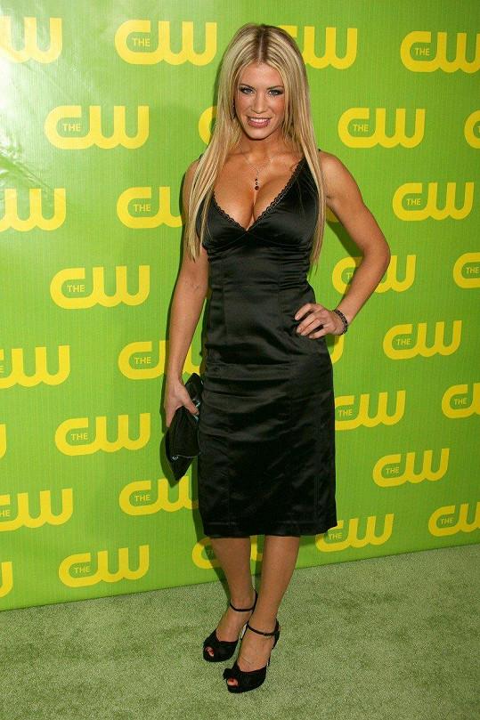 Ashley Massaro měla luxusní postavu.