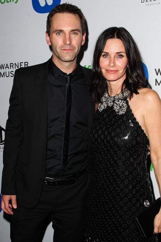 Courteney Coxx a Johnny McDaid