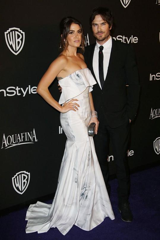 Nikki a Ian už na lednovém udílení Zlatých glóbů vypadali jako novomanželé.