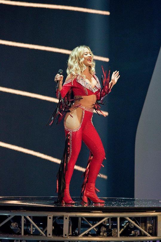 Rita Ora okořenila finále reality show Německo hledá topmodelku.