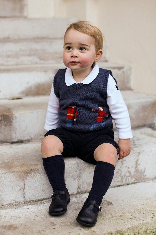 Roční princ byl roztomilost sama.