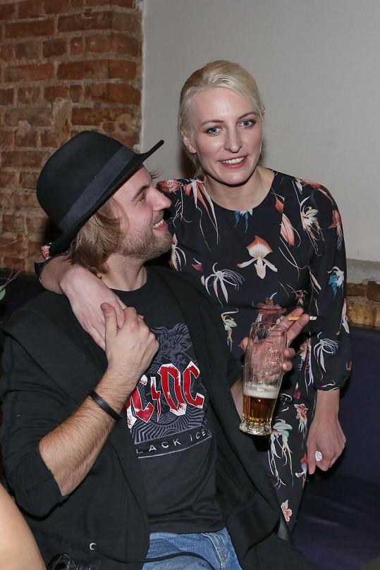 Anna Polívková s Michalem Kurtišem