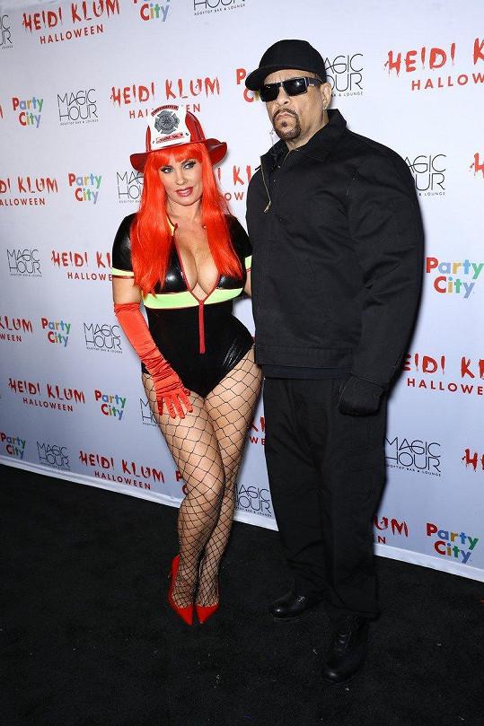 Doprovodil ji manžel Ice-T.