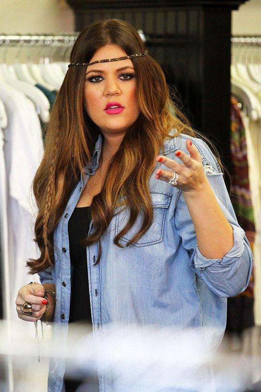"""Reality star Khloe Kardashian byla """"oplácanou"""" sestrou ze slavného klanu."""