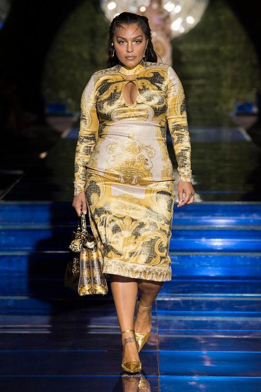 Druhou plus size modelkou byla Paloma Elsesser
