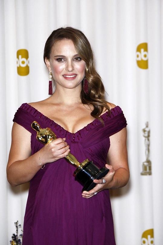 Oscara za svou životní roli si přebírala už s bříškem.