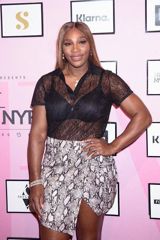 Serena je pořádný kus ženské.