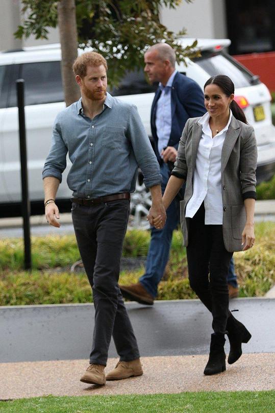 S manželem navštívili australské město Dubbo.