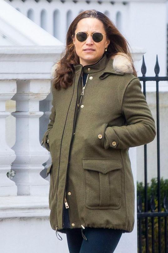 Pippa Middleton se stala podruhé maminkou.