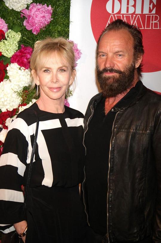 S manželem Stingem