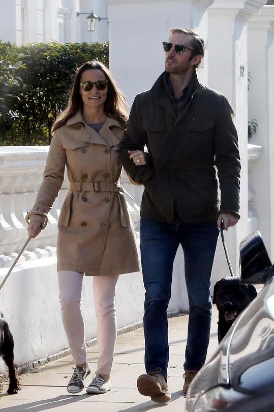 Snoubenci James Matthews a Pippa Middleton