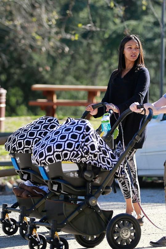 Zoe se v prosinci stala dvojnásobnou maminkou.