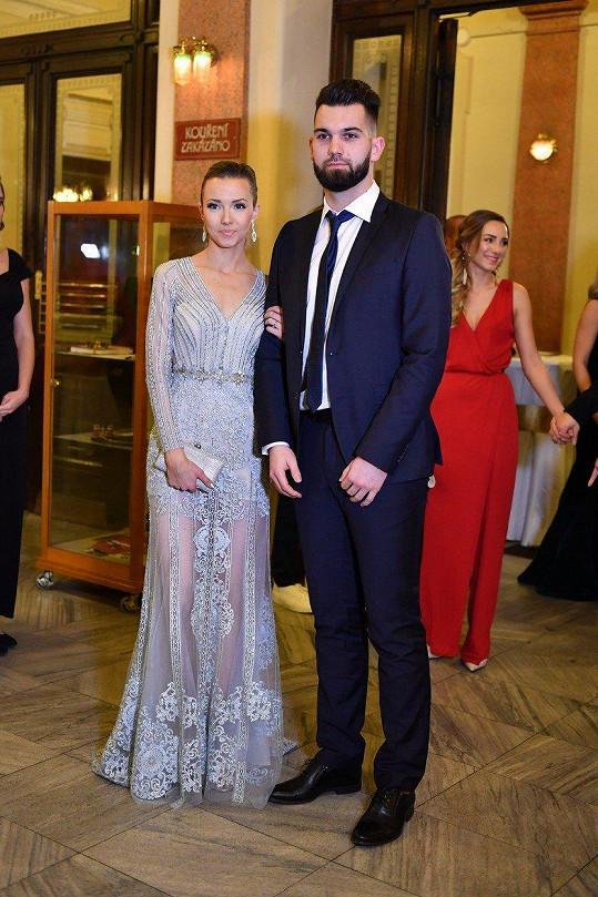 Tomáš Koubek s partnerkou Janou