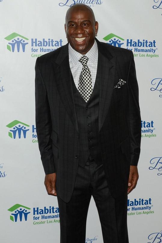 Magic Johnson s virem HIV úspěšně bojuje už 24 let.