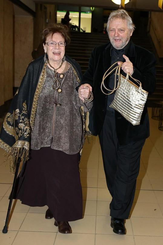 S manželem Stanislavem Milotou