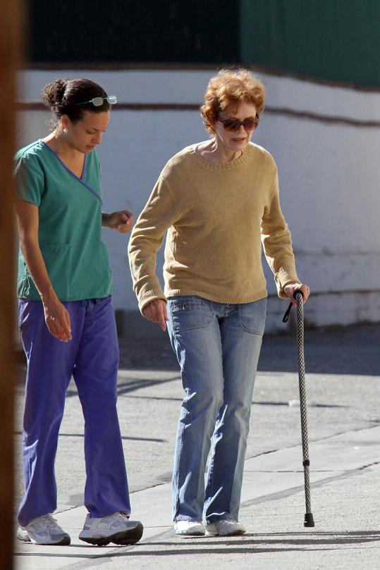 Nancy Dow v posledních pěti letech trpěla vleklými zdravotními potížemi.