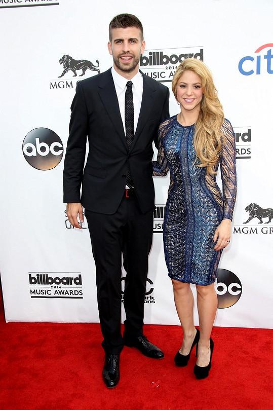 Shakira a Gerard Piqué tvoří pár od roku 2011.