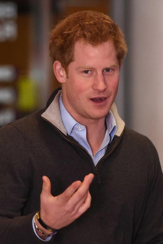 Podařilo se Harrymu udělat dojem na jednu z nejkrásnějších britských hereček?