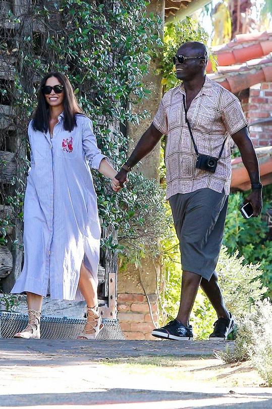 Seal a Erica Packer spolu chodí už několik měsíců.