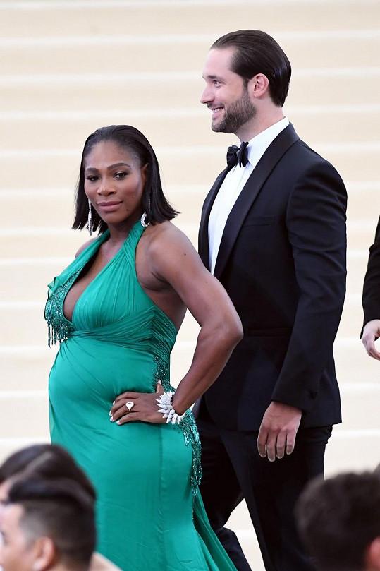 Serena Williams bude letos maminkou.