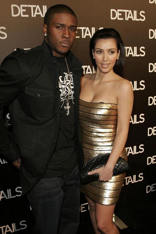 Rapper v minulosti chodil s Kim Kardashian.