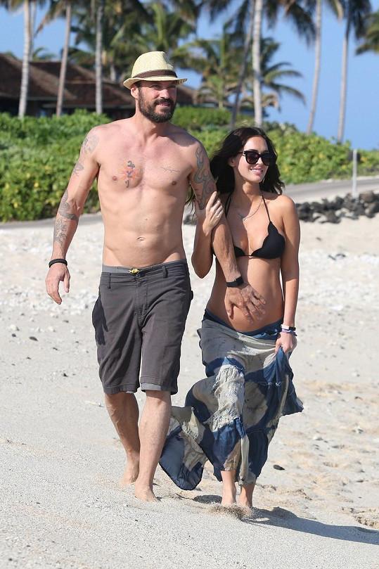 Brian Austin Green a Megan Fox čekají třetí dítě.