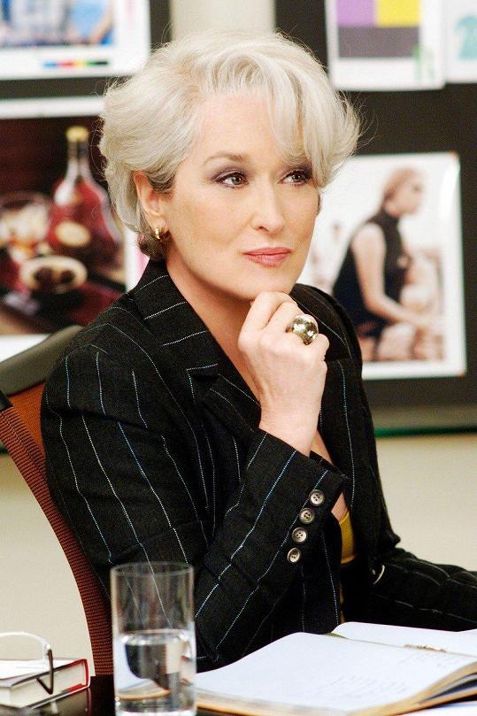 Meryl Streep v komedii Ďábel nosí Pradu (2006)